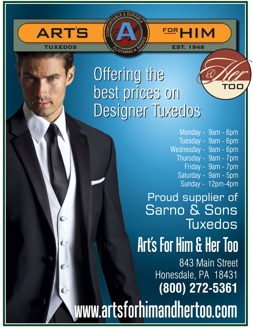 The Wedding Planner Magazine   Art\'s for Him & Her Too offering the ...